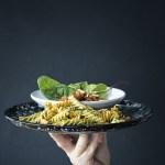 pasta pesto Food photography
