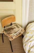 Historisch interieur; slaapkamer gasten