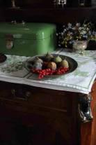 Historisch interieur; fruitschaaltje