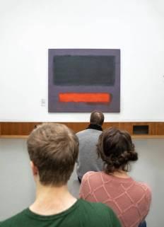 Museum Boijmans van Beuningen; Rothko schilderij