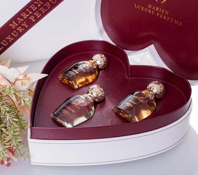 Marien Perfume Love Box Gift Set by Marien.ae