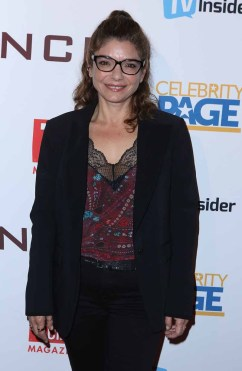 """STUDIO CITY, CA - NOVEMBER 6: Laura San Giacomo attends the TV Guide Magazine Cover Party for Mark Harmon and 15 seasons of the CBS show """"NCIS"""" at River Rock at Sportsmen's Lodge on November 6, 2017 in Studio City, California. (Photo by JC Olivera/PictureGroup)"""