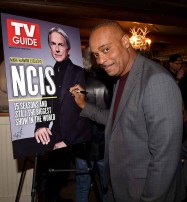 "STUDIO CITY, CA - NOVEMBER 6: Rocky Carroll attends the TV Guide Magazine Cover Party for Mark Harmon and 15 seasons of the CBS show ""NCIS"" at River Rock at Sportsmen's Lodge on November 6, 2017 in Studio City, California. (Photo by Frank Micelotta/PictureGroup)"
