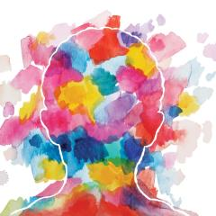 Mental cerveau tête