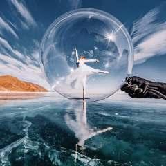 danse danseuse bulle