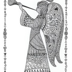 trompette ange