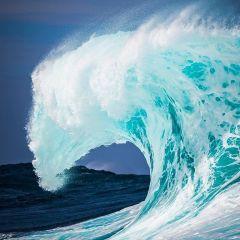 Vague de l'océan