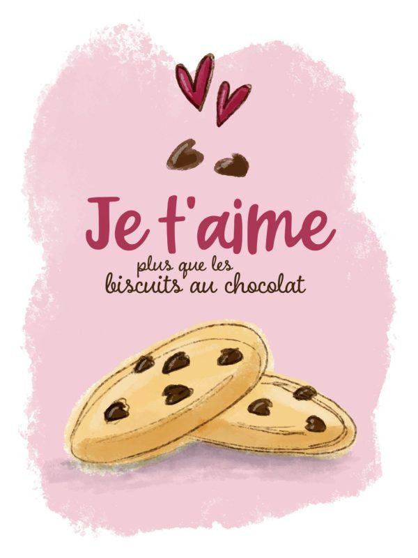 Biscuits au chocolat - Illustration 2