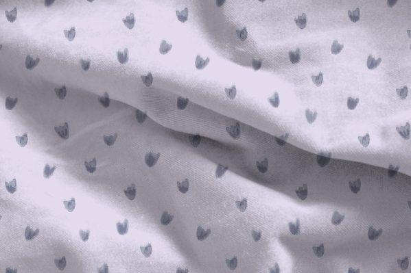 Doux arcs-en-ciel - tissu fleurs mauve