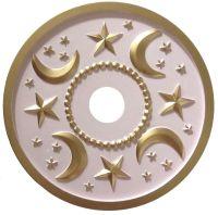 Moon and Stars Ceiling Medallions - Marie RicciMarie Ricci