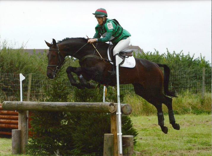 Marie Ryan with Better Thymze at Moreton Morrell