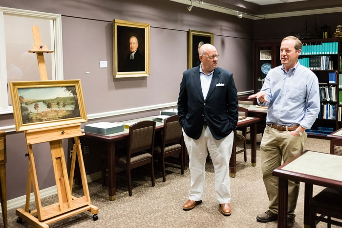 College receives historic paintings from descendants of