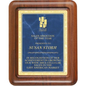Silhouette Series Plaque MARIETTA TROPHY