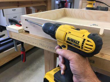 Installing a Pocket Screw