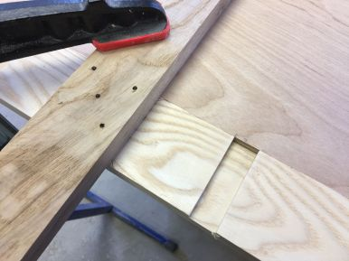 Custom T Square for Plywood Router Bit