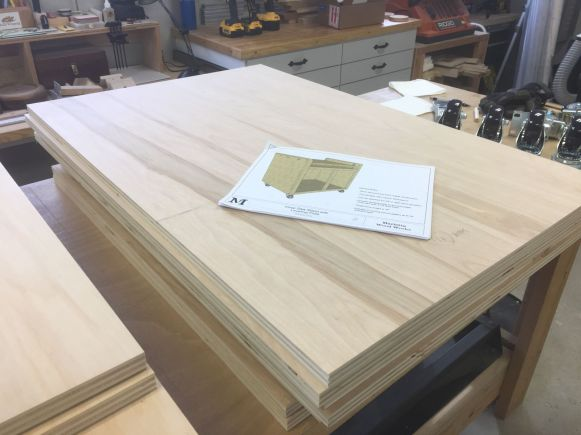 Chop saw stand components