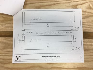 Shop drawings - details
