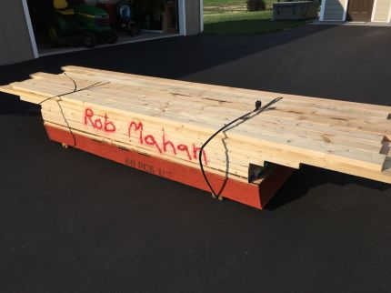 Lumber Delivery - I Think It's for Me!