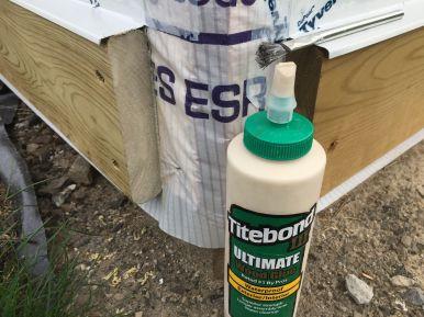 PT Cut Ends Coated with Waterproof Titebond III