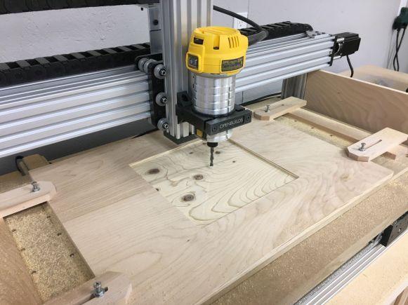 Machining Tray Recess