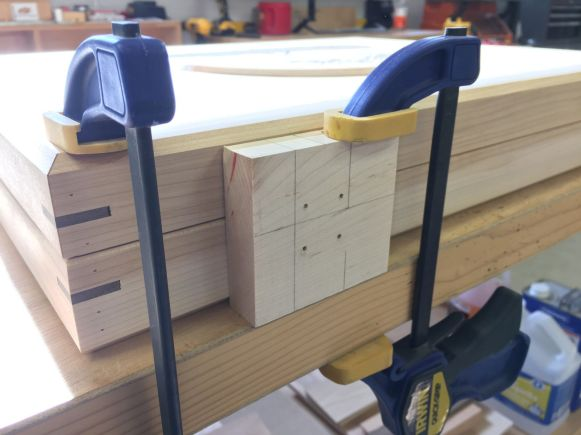 Drilling for Latches