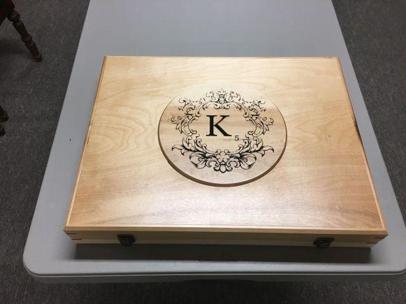 Katie's Scrabble Box