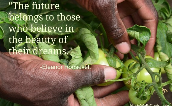 Eleanor Roosevelt quote about dreams