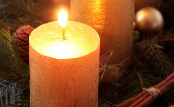 Advent, candle, beginning, Christmas