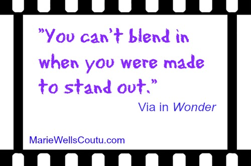You can't blend in when you were made to stand out.