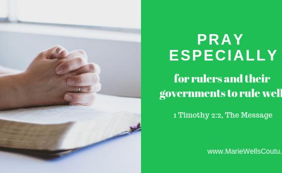 Pray for leaders
