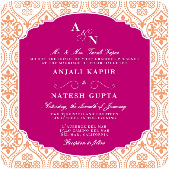 Cool Wedding Invitations For The Ceremony