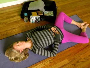 Lying Butterfly Pose