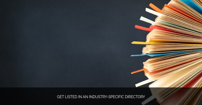 Get Listed in an Industry-Specific Directory