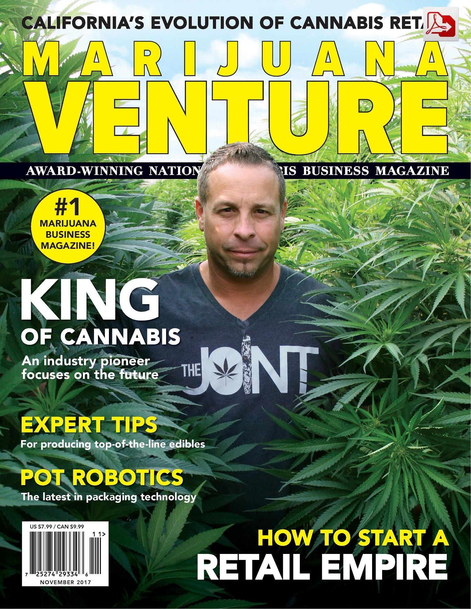 Marijuana Venture Magazine  Cannabis Business  Industry