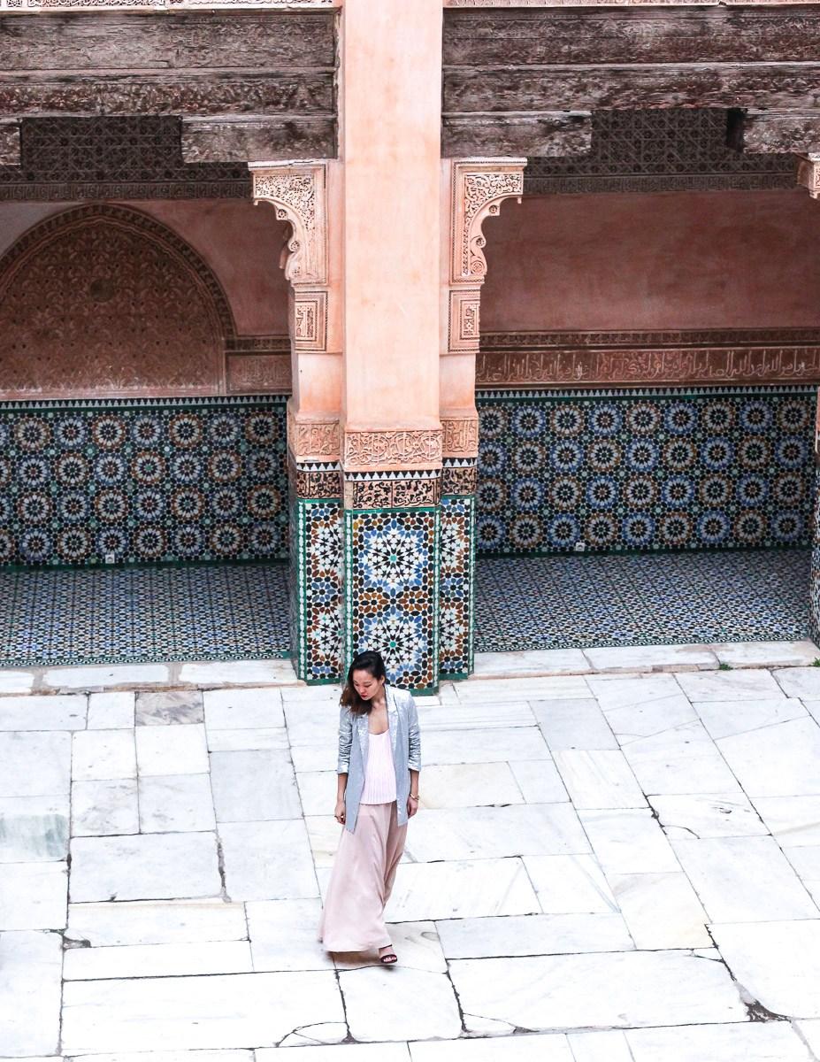 ben youssef madrasa Marrakesh, Morocco