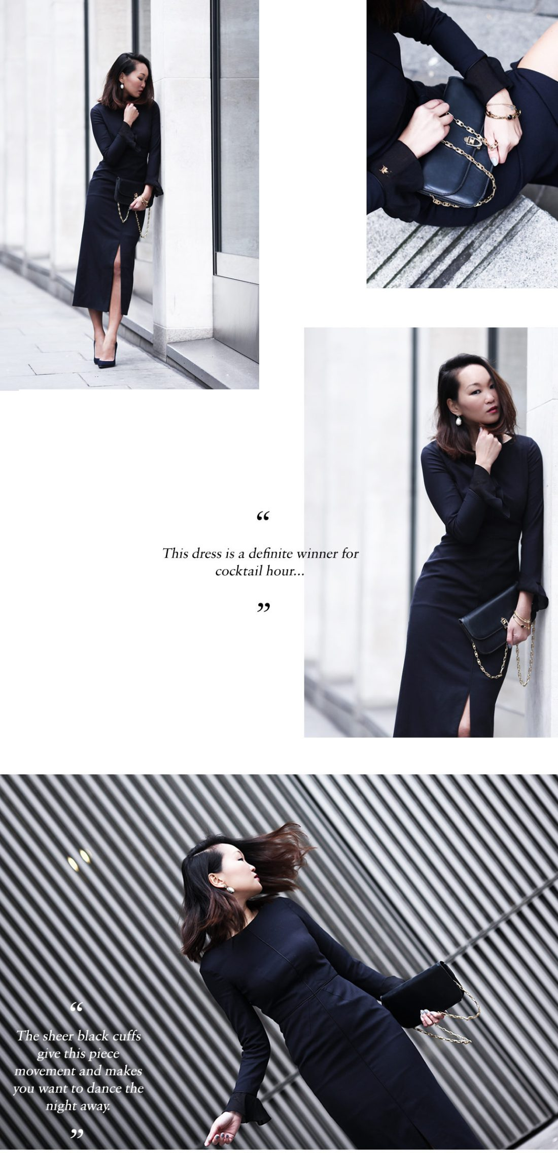 mariko kuo in the connaught dress by the fold london