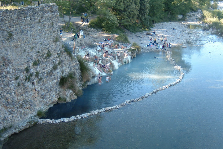 Bagni San Filippo How To Get There