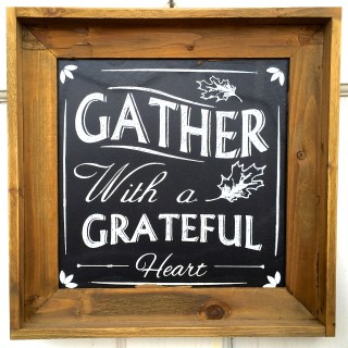 gather with a grateful heart