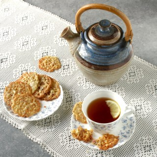 Orange Almond Lace Cookies 1