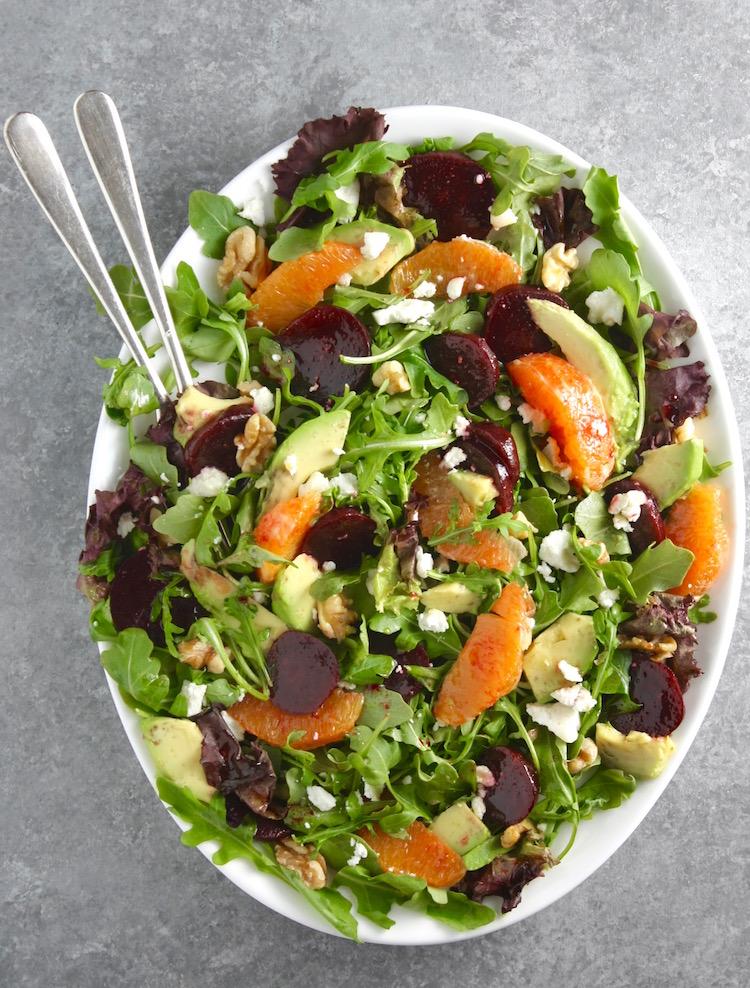 Arugula Beet and Orange Salad