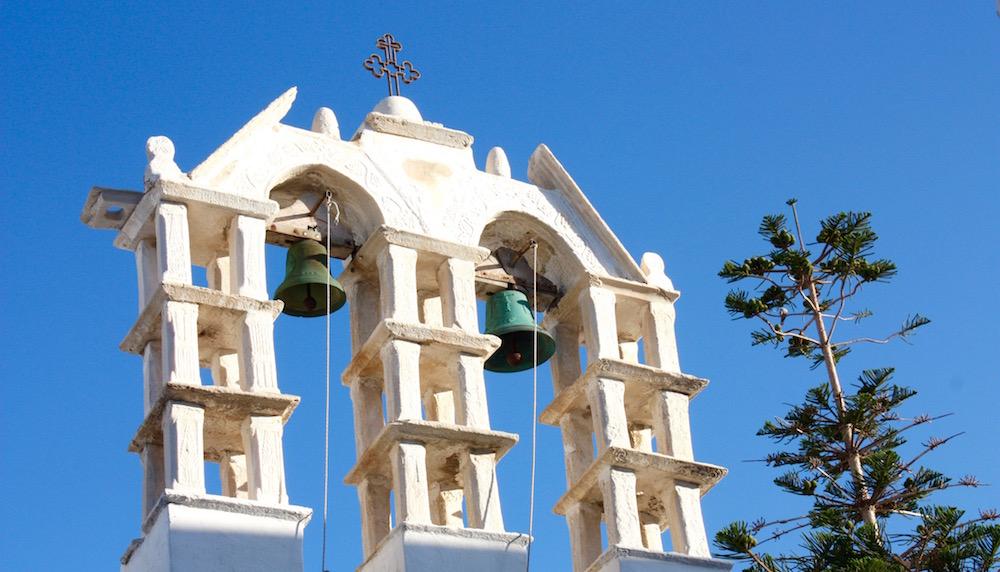 Greek Island Light - Church Bells, Paros