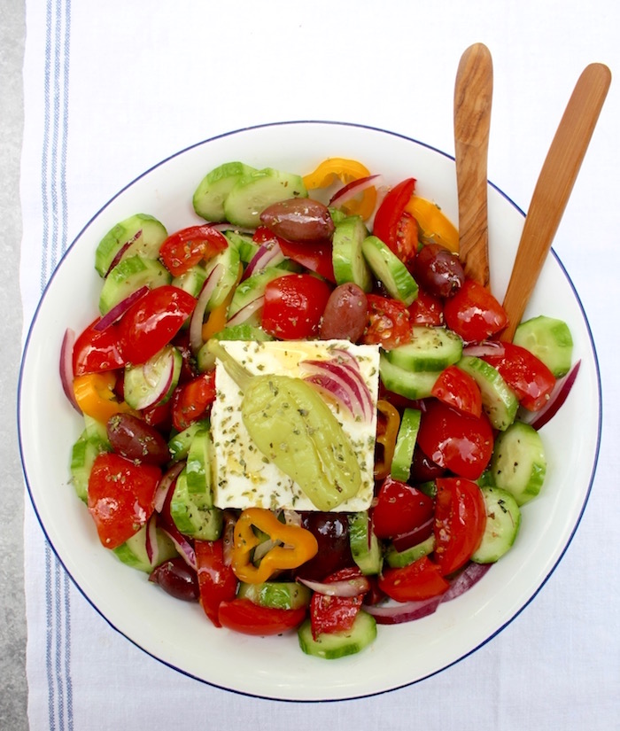 Greek Peasant Salad 2