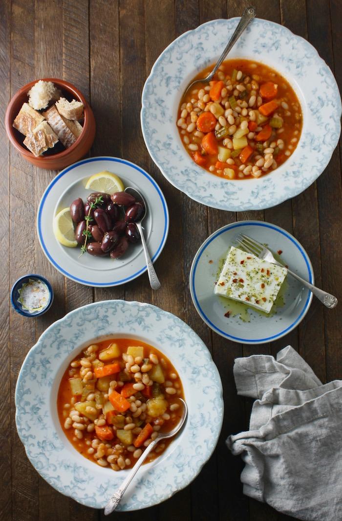 Traditional Greek Bean Soup