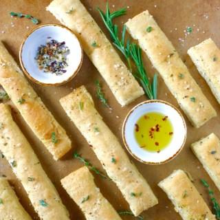 Easy Semolina Breadsticks
