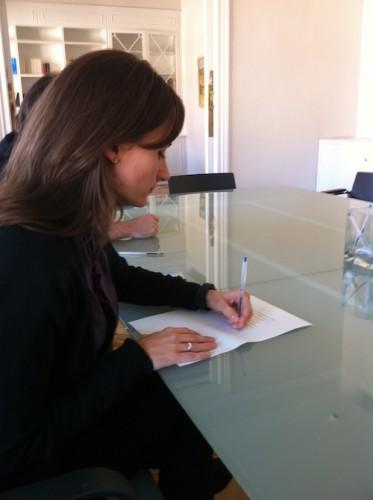 Firma notario