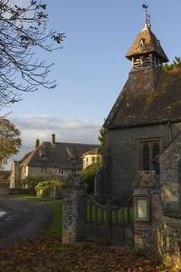 Hammoon church & Manor House.