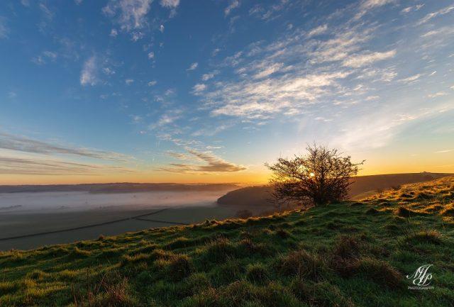 Sunrise, Hambledon Hill