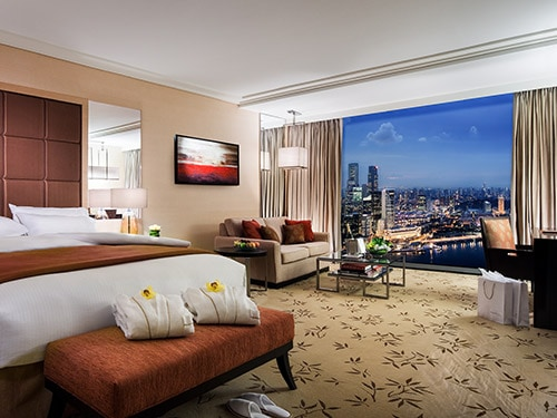 Singapore Hotel Rooms  Suites in Marina Bay Sands