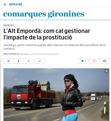 Ara prostitucio