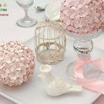 Bola de flores para decorar centro de mesa